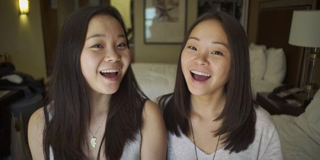 Twin sisters find each other through web resources